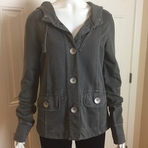 prAna Button front jacket Size small